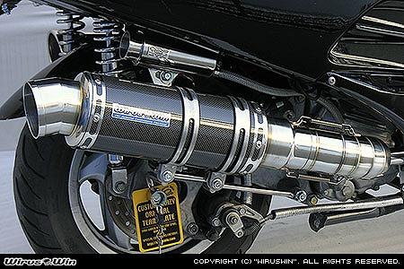 素晴らしい価格 バイク用品 マフラー 4ストフルエキゾーストマフラーウイルズウィン WirusWin プレミアムマフラー BLKカーボン FORZA MF06 212-26-21 4547567539735取寄品, フラワーコーポレーション 43d2ac76