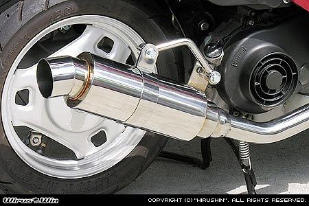 バイク用品 マフラー 4ストフルエキゾーストマフラーウイルズウィン WirusWin ロイヤルマフラー スポーツ アドレスV50 レッツ4(O2センサー付)972-59-15 4547567870333取寄品 スーパーセール