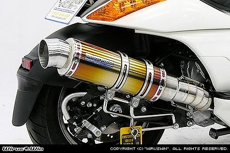 バイク用品 マフラー 4ストフルエキゾーストマフラーウイルズウィン WirusWin プレミアムマフラー チタン GEMMA362-26-11 4547567884163取寄品 スーパーセール