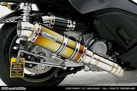 バイク用品 マフラー 4ストフルエキゾーストマフラーウイルズウィン WirusWin プレミアムマフラー チタン Faze(MF11)252-26-11 4548664056514取寄品 スーパーセール