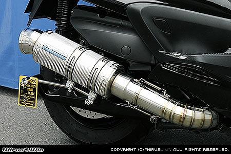 バイク用品 マフラー 4ストフルエキゾーストマフラーウイルズウィン WirusWin プレミアムマフラー SLVカーボン GRANDMAJESTY400(O2センサー付)132-26-32 4548664993888取寄品 スーパーセール