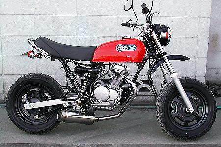 バイク用品 マフラー 4ストフルエキゾーストマフラーウイルズウィン WirusWin ドラッグバイソンマフラー バズーカー APE50(FI車)752-58-52 4548916180820取寄品 スーパーセール