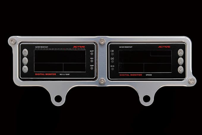 バイク用品 電装系 メーターウッドストック WOODSTOCK メーターステー Dタイプ SLV アクティブ Ver.4モニター用ADM-10D-SL 4548664119486取寄品 スーパーセール