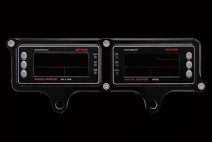 バイク用品 電装系 メーターウッドストック WOODSTOCK メーターステー Dタイプ BLK アクティブ Ver.4モニター用ADM-10D-BK 4548664119493取寄品 スーパーセール