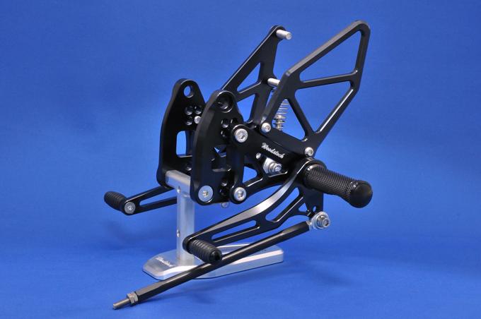 バイク用品 ステップ ステップ&ステップボード&タンデムキットウッドストック WOODSTOCK ステップキット 4POS BLK Z1000 Ninja1000 10-WBS-K25-BB 4548664307708取寄品 セール