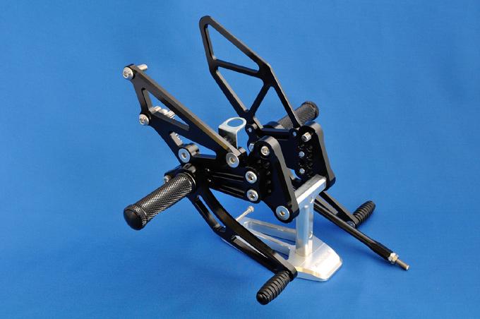 バイク用品 ステップ ステップ&ステップボード&タンデムキットウッドストック WOODSTOCK ステップキット 4POS BLK Ninja250 13-WBS-K30-BB 4548916290437取寄品 スーパーセール