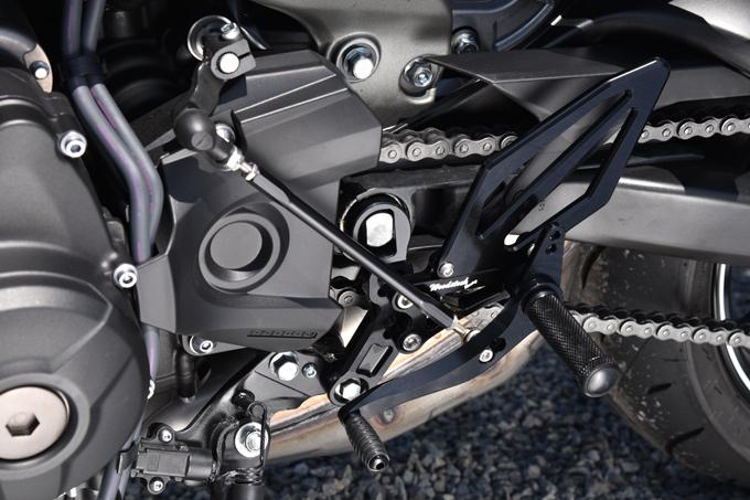 バイク用品 ステップ ステップ&ステップボード&タンデムキットウッドストック WOODSTOCK バックステップキット 4POS BLK MT-09WBS-Y12-BB 4548916878413取寄品 スーパーセール