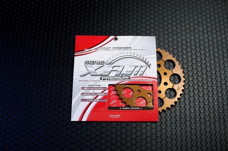 バイク用品 駆動系XAM ザム PRE スプロケット 428-44 セロー225(REAR DRAM BRAKE) TT225 BRONCO XT225A3208X44 4528388425599取寄品 セール