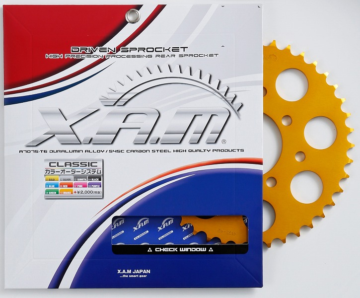 バイク用品 駆動系XAM ザム スプロケット 525-47T YZF-R6(03-) YZF-R1(-14) 525CON.A5203-47 4528388463973取寄品 セール