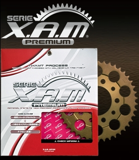 【値下げ】XAM/PREMIUM/ザム/スプロケ/ブロンズカラー/A6303X38T/4528388431835