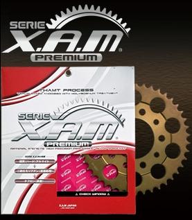 【値下げ】XAM/PREMIUM/ザム/スプロケ/ブロンズカラー/A6407X42T/4528388458368