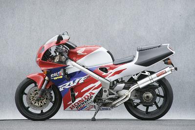 バイク用品 マフラーヤマモトレーシング YAMAMOTORACING ステン4-2-1 アルミサイレンサー RVF40010409-21SAB 4521717001051取寄品 スーパーセール