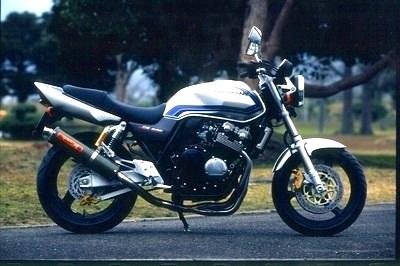 バイク用品 マフラーヤマモトレーシング YAMAMOTORACING ステン4-2-1 カーボンサイレンサー CB400SF VTEC 99-10410-21SCB 4521717001105取寄品 スーパーセール