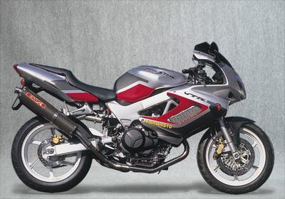 バイク用品 マフラーヤマモトレーシング YAMAMOTORACING ステン2-1-2 カーボンサイレンサー VTR1000F11002-52SCB 4521717001747取寄品 スーパーセール