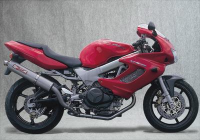 バイク用品 マフラーヤマモトレーシング YAMAMOTORACING スリップオン UPチタンサイレンサー2ホンダシ VTR1000F11003-02UTB 4521717001785取寄品 スーパーセール