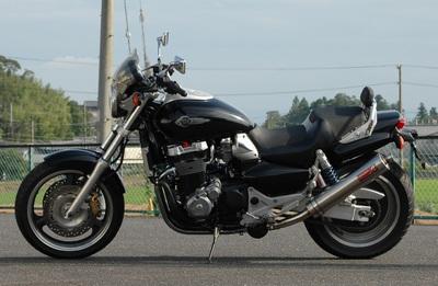 バイク用品 マフラーヤマモトレーシング YAMAMOTORACING ステンスリップオンチタンサイレンサー2ホンダシ X-411300-02NTB 4521717001952取寄品 スーパーセール
