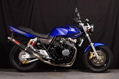 バイク用品 マフラーヤマモトレーシング YAMAMOTORACING チタン4-1 カーボンサイレンサー CB400SF VTEC 99-10410-11TCB 4521717002454取寄品 スーパーセール