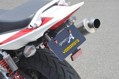 バイク用品 外装ヤマモトレーシング YAMAMOTORACING フェンダーレスキット CB1300SF 0300012-01 4521717002584取寄品