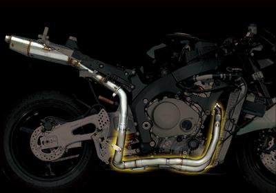 バイク用品 マフラーヤマモトレーシング YAMAMOTORACING チタン4-2-1 TYPE2(EX ASSY) CBR1000RR 04-11007-21002 4521717002645取寄品 スーパーセール