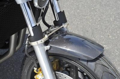 バイク用品 外装ヤマモトレーシング YAMAMOTORACING フロントフェンダー カーボン CB1300SF 0300012-03 4521717002799取寄品