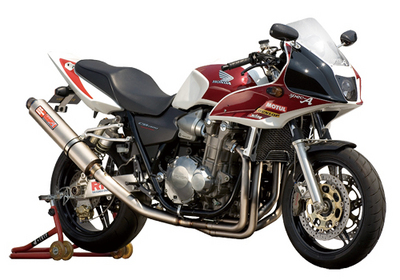 バイク用品 マフラーヤマモトレーシング YAMAMOTORACING チタン4-1 UPチタンサイレンサー CB1300SF 03-11304-11UTB 4521717002904取寄品 スーパーセール