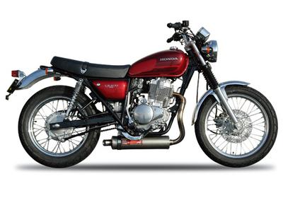 バイク用品 マフラーヤマモトレーシング YAMAMOTORACING ステン2-1 TYPE-D チタンサイレンサー CB400SS10411-61DT2 4521717003772取寄品