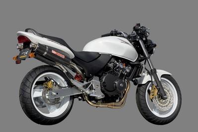 バイク用品 マフラーヤマモトレーシング YAMAMOTORACING ステン4-1-2カーボンサイレンサー キャタナシ HORNET25010253-82SCB 4521717004007取寄品 スーパーセール