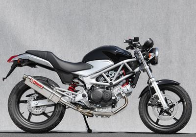 バイク用品 マフラーヤマモトレーシング YAMAMOTORACING ステン2-1 TYPE-Sサイレンサー JMCA VTR250 09-1710260-61SSC 4521717004700取寄品