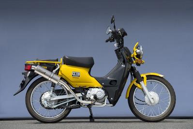 バイク用品 マフラーヤマモトレーシング YAMAMOTORACING SPEC-A SUS UP オーバル CROSS CUB10110-71SOJ 4521717006520取寄品 スーパーセール