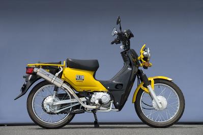 バイク用品 マフラーヤマモトレーシング YAMAMOTORACING SPEC-A SUS UP チタン クロスカブ 13-10110-71STJ 4521717006537取寄品