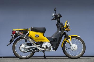バイク用品 マフラーヤマモトレーシング YAMAMOTORACING SPEC-A SUS UP カーボン CROSS CUB10110-71SCJ 4521717006544取寄品 スーパーセール