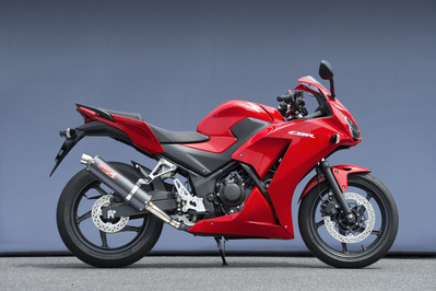 バイク用品 マフラーヤマモトレーシング YAMAMOTORACING SPEC-A スリップオン カーボン CBR250R 14-10264-01NCB 4521717006711取寄品 スーパーセール