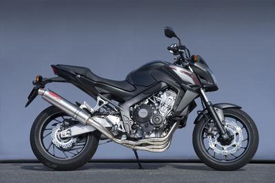 バイク用品 マフラーヤマモトレーシング YAMAMOTORACING SPEC-A フルエキ TI 4-2-1 TI CB650F CBR650F 14-10650-21TTN 4521717006827取寄品