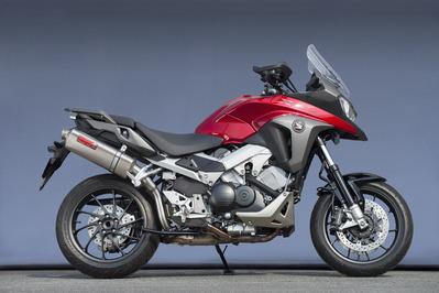 バイク用品 マフラーヤマモトレーシング YAMAMOTORACING スリップオン UP TYPE-S VFR800X 14-1710801-01USN 4521717006926取寄品 スーパーセール