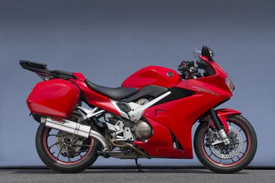 バイク用品 マフラーヤマモトレーシング YAMAMOTORACING スリップオン チタン VFR800F 14-17 パニア10803-01NTN 4521717007183取寄品 スーパーセール