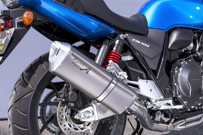 バイク用品 マフラーヤマモトレーシング YAMAMOTORACING SPEC-A チタン4-1 TYPE-SA CB400SF 18-(2BL-NC42)10416-11TSA 4521717007893取寄品 スーパーセール