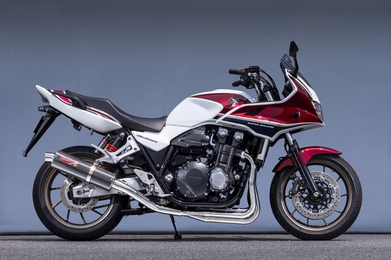 バイク用品 マフラーヤマモトレーシング YAMAMOTORACING SPEC-Aチタン4-1カーボン CB1300SB SF 18-(2BL-SC54)11317-11TCB 4521717007961取寄品 スーパーセール