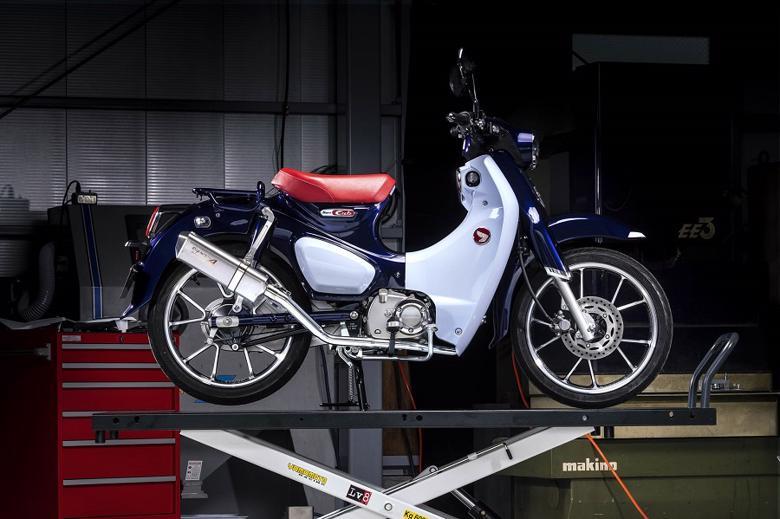 バイク用品 マフラーヤマモトレーシング YAMAMOTORACING SPEC-A SUS UP-TYPE TYPE-SA スーパーカブC125 18-(2BJ-JA48)10131-71SSA 4521717008203取寄品 スーパーセール