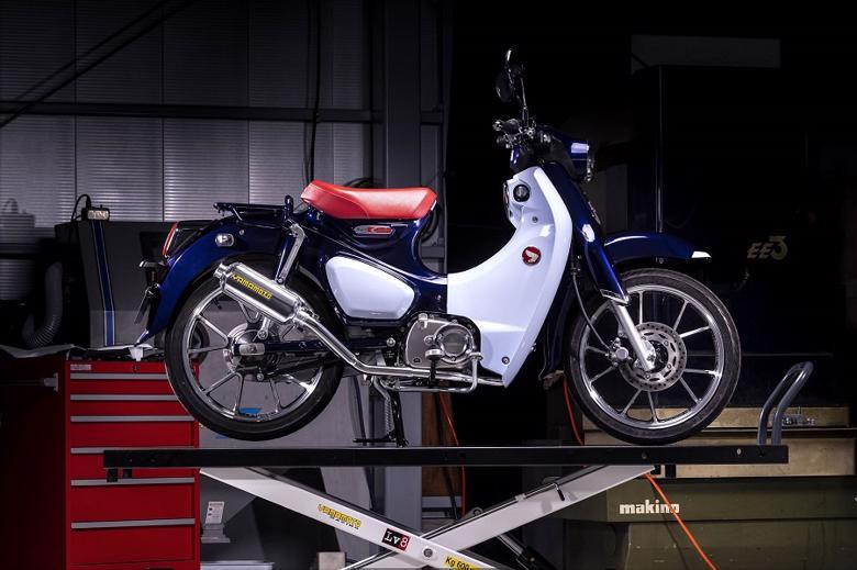 バイク用品 マフラーヤマモトレーシング YAMAMOTORACING SPEC-A SUS UP-TYPE アルミプレス スーパーカブC125 18-(2BJ-JA48)10131-71SAP 4521717008210取寄品 スーパーセール