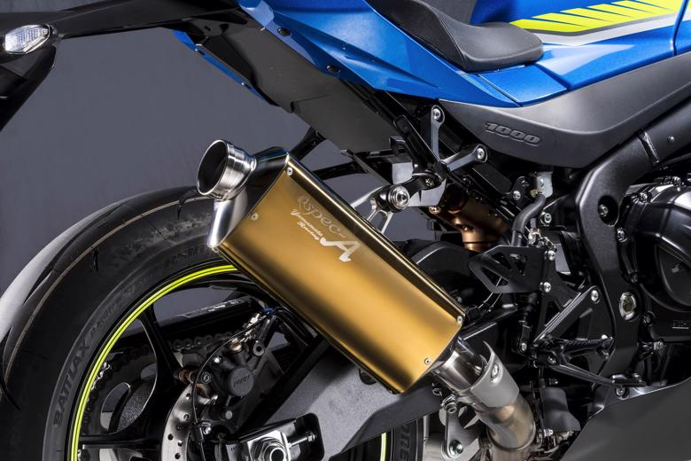 バイク用品 マフラーヤマモトレーシング YAMAMOTORACING SPEC-A S O TYPE-Sゴールド 認証 GSX-R1000R 17-31005-01NSG 4521717200836取寄品 スーパーセール