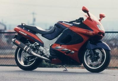 バイク用品 マフラーヤマモトレーシング YAMAMOTORACING ステン4-2-1 カーボンサイレンサー ZZR110041100-21SCB 4521717300291取寄品 スーパーセール