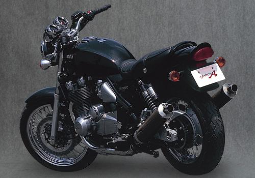 バイク用品 マフラーヤマモトレーシング YAMAMOTORACING スリップオン チタンサイレンサー2ホンダシ ZEPHYR110041101-02NTB 4521717300376取寄品 スーパーセール