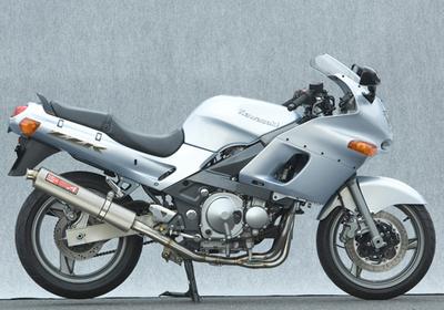 バイク用品 マフラーヤマモトレーシング YAMAMOTORACING ステン チタン4-2-1 キャタツキ Nガタ ZZR400 -0540405-21STB 4521717300543取寄品 スーパーセール