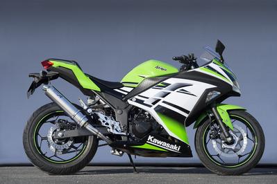 バイク用品 マフラーヤマモトレーシング YAMAMOTORACING ステン スリップオン チタンサイレンサー Ninja250 13-40252-01NTB 4521717300949取寄品 スーパーセール