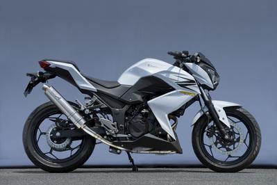 バイク用品 マフラーヤマモトレーシング YAMAMOTORACING ステン スリップオン チタンサイレンサー Z250 13-40253-01NTB 4521717301007取寄品 スーパーセール
