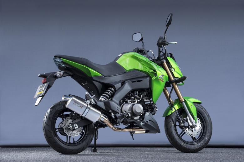 バイク用品 マフラーヤマモトレーシング YAMAMOTORACING SPEC-A UP タイプS Z125PRO 16-(2BJ-BR125H)40114-71SS1 4521717301212取寄品 スーパーセール