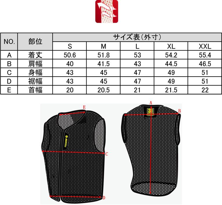 【送料無料】本国廃盤モデル在庫限りバイク3Dメッシュベスト涼しい蒸れにくいSCOYCOJK56