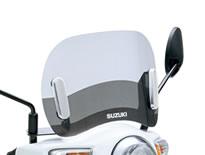 スーパーセール 【スズキ】【SUZUKI】【レッツ/レッツG】メッキショートスクリーン【99000-9900A-29G】