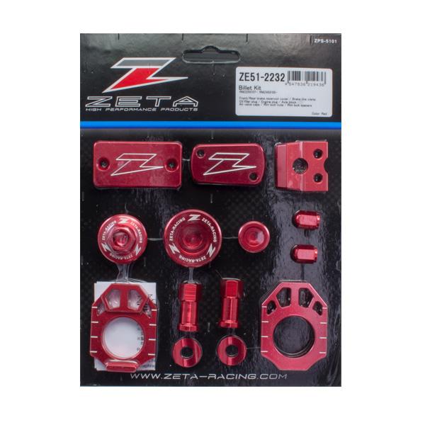 ZETA ビレットキット RED RMZ250 07-18/RMZ450 05-18 《ジータ ZE51-2232》