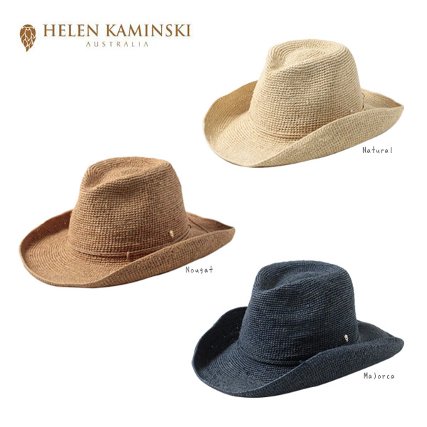 HELEN KAMINSKI BELEN 正規品 送料無料 スリランカ製 ウエスタンハット テンガロンハット ストローハット 麦わら帽子 つば広ハット 紫外線対策 UVケア 日よけ レディース 女性 ヘレンカミンスキー 帽子 ランキング第1位